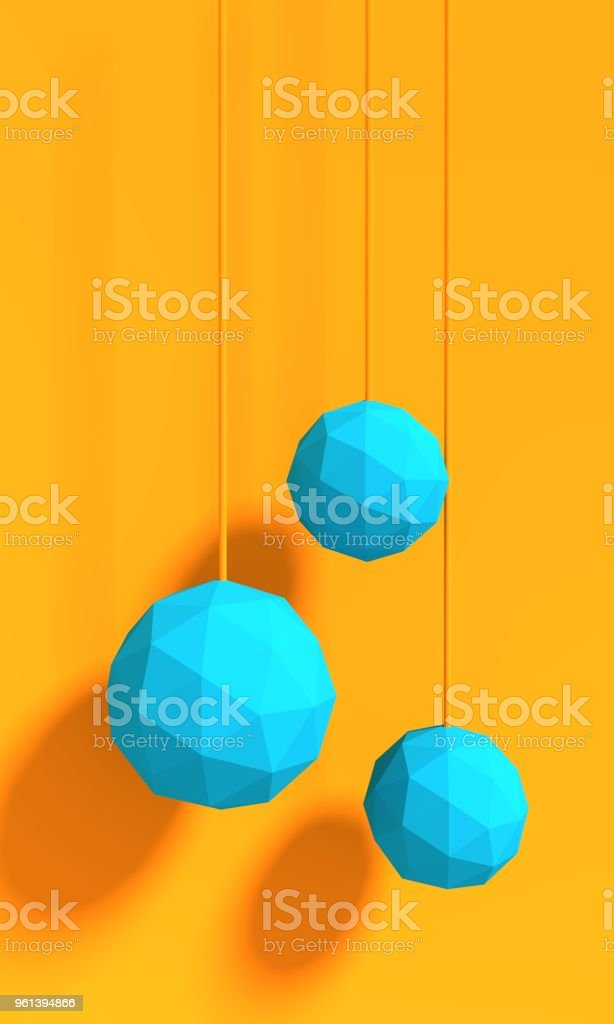 Abstract geometry shape stock photo