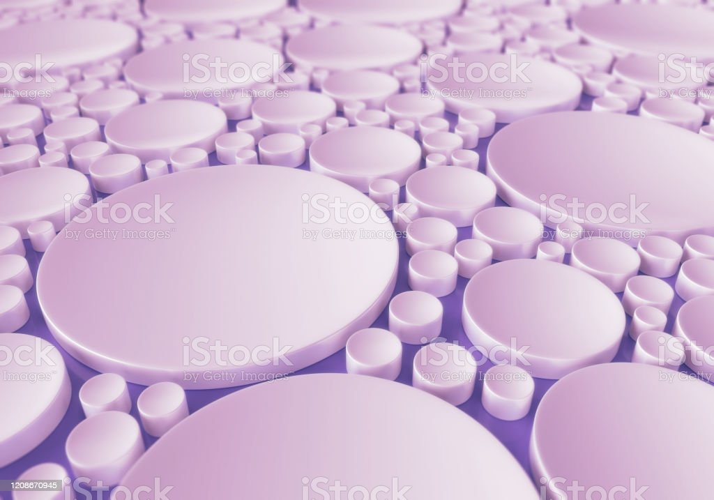 Abstract Girly Circle Background - Royalty-free Abstract Stock Photo