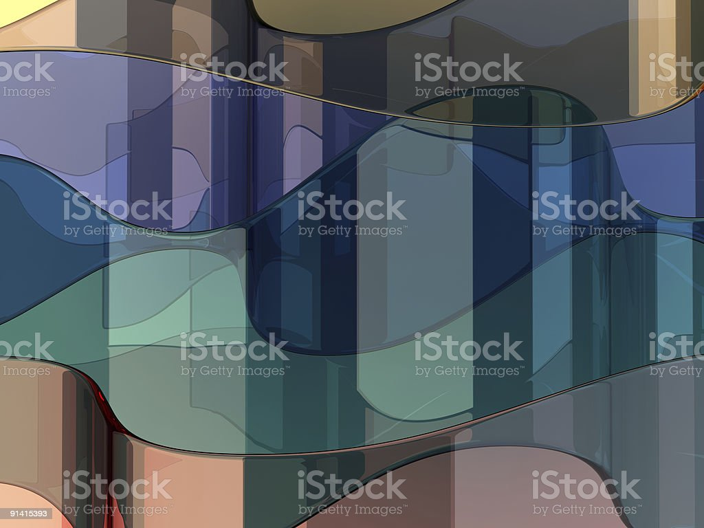 Abstract glass background stock photo
