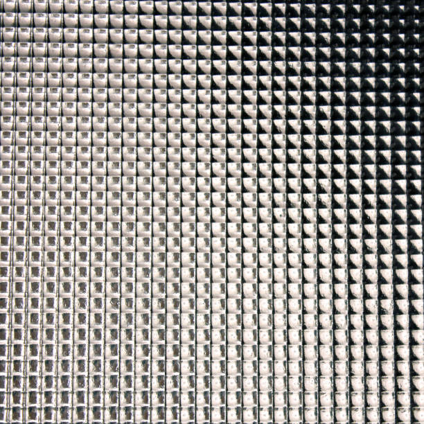 Abstract glass pattern. Glass background stock photo