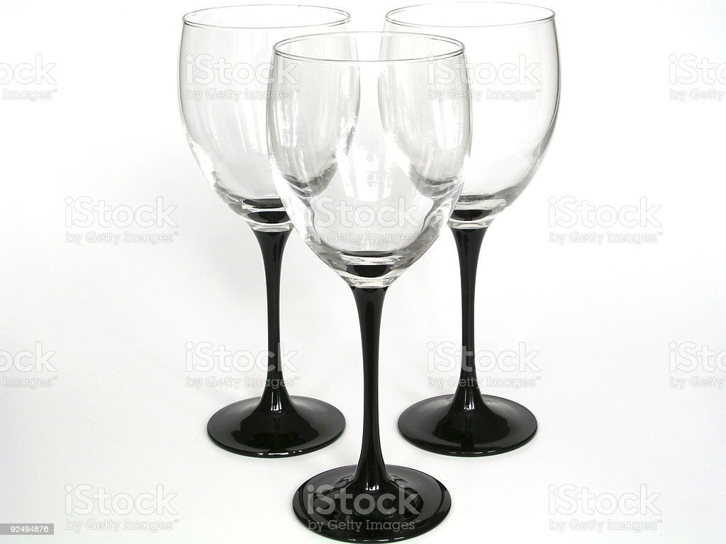 Abstract glasses II royalty-free stock photo