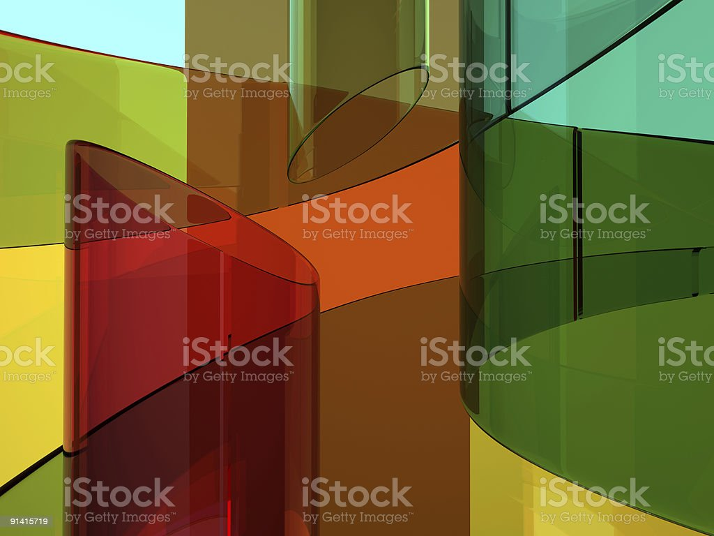 Abstract glassy background stock photo