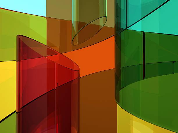 abstrakte kupfer-hintergrund - farbiges glas stock-fotos und bilder
