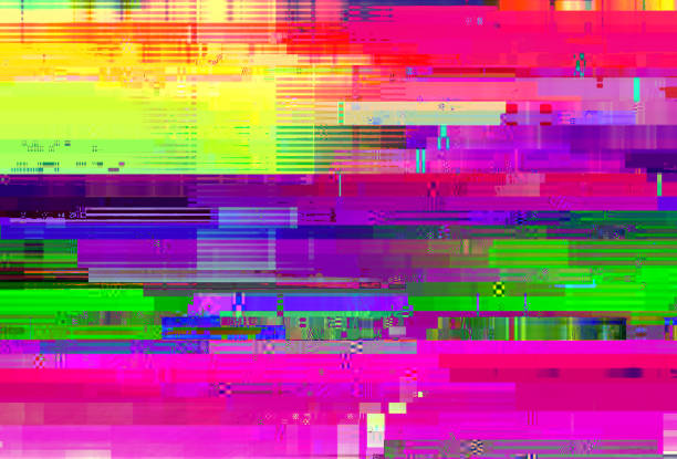 Abstract glitch background Abstract glitch background dilemma stock pictures, royalty-free photos & images