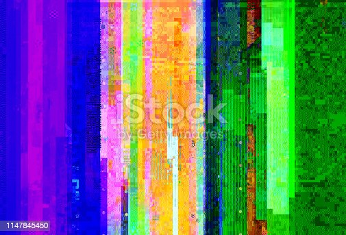 1147613691 istock photo Abstract glitch background 1147845450