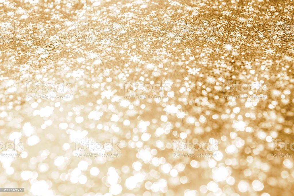 Abstract Glitter Background with Stars stock photo