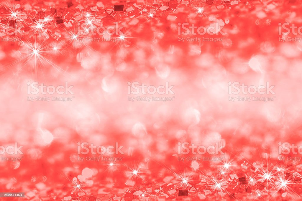 Abstract glitter red background photo libre de droits