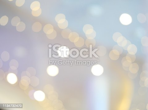 847752786 istock photo Abstract glittering bokeh background 1134732470