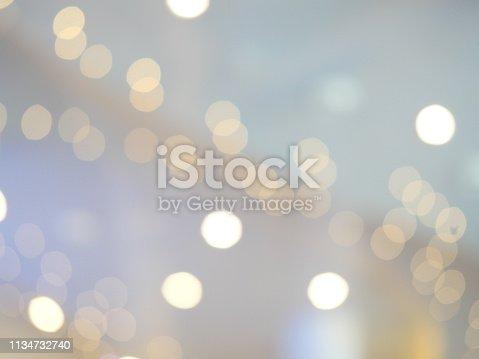 847752786 istock photo Abstract glittering bokeh background 1134732740
