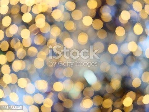 847752786 istock photo Abstract glittering bokeh background 1134733065