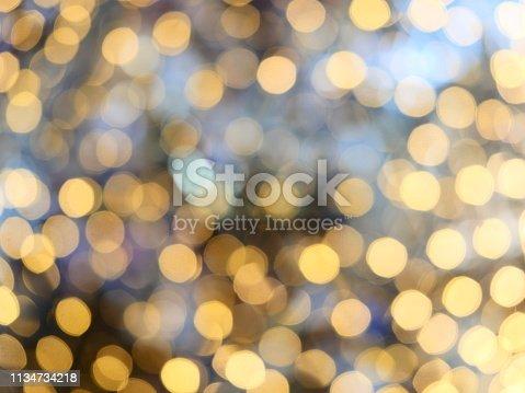 847752786 istock photo Abstract glittering bokeh background 1134734218