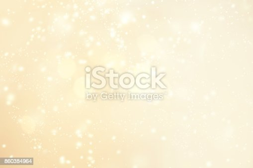 istock Abstract glittering Christmas background  background  with snowflakes, light, stars. Merry Christmas card. 860384964