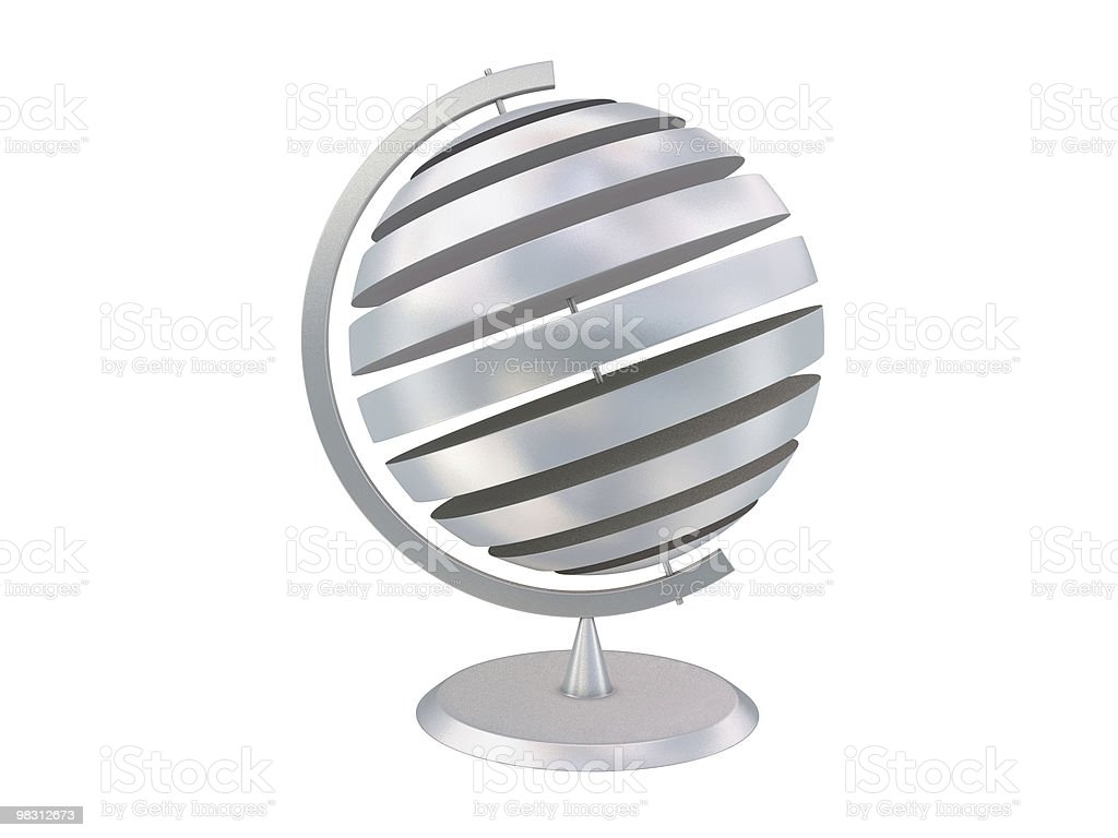 Abstract globe royalty-free stock photo