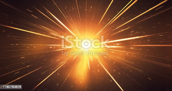 Abstract background image, digitally generated. Perfectly usable for topics like Christmas, New Year, awards and anniversaries or as a depiction of high speed motion.