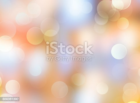istock Abstract glowing holiday bokeh blur background. 656381392