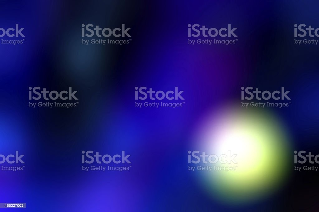 abstract glowing light in purple background stock photo