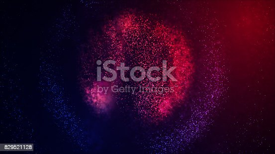 istock Abstract Glowing Particles 829521128