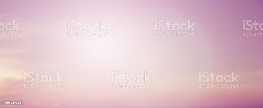 abstract glowing sunshine flare light on pink pastel tone of early...