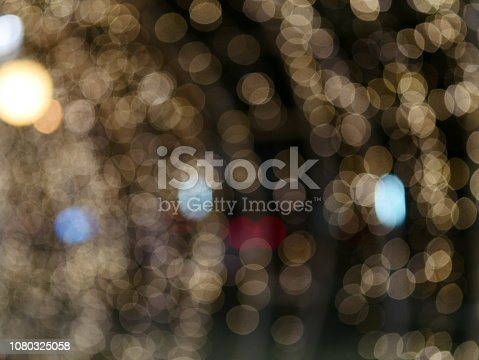 istock Abstract gold and bright glitter for new year 1080325058