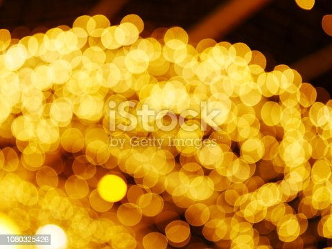 istock Abstract gold and bright glitter for new year 1080325426