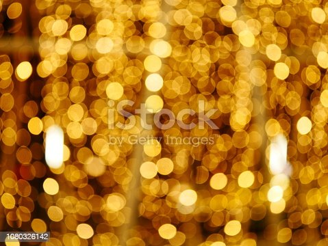 istock Abstract gold and bright glitter for new year 1080326142