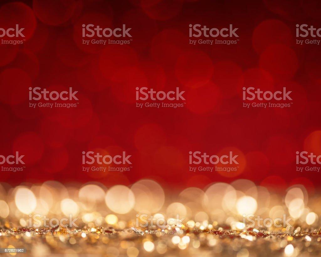 Abstrakte Gold und rot glitzernden Oberfläche – Foto