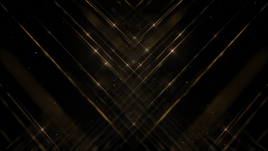 Abstract Gold award background