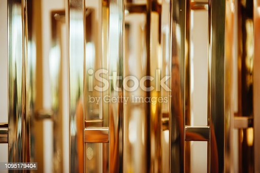 abstract gold melal texture desfocused for background