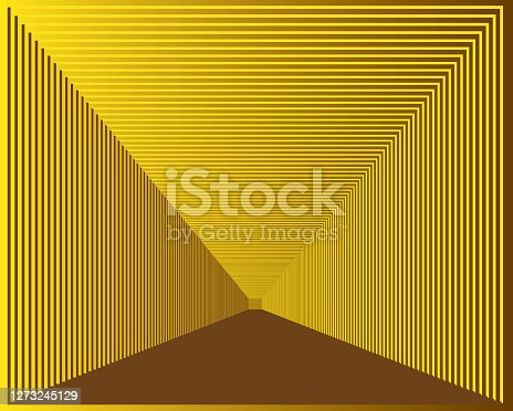 Abstract gold engraved background
