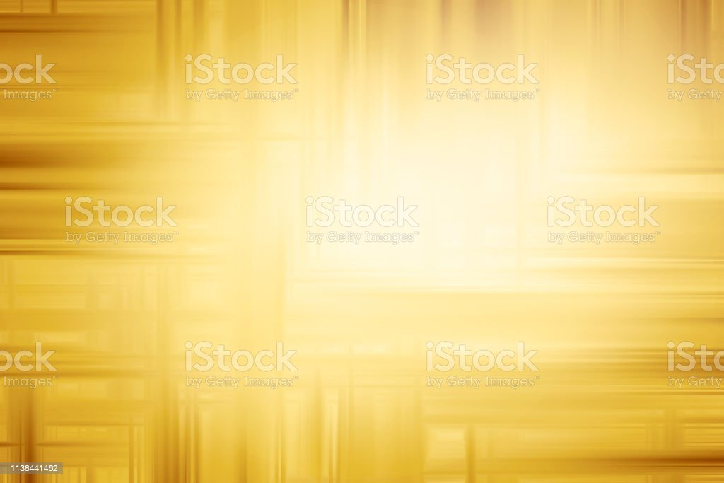 Abstract Gold Background with vignette and copyspace stock photo