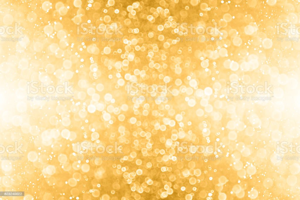 Abstract Gold Glitter and Golden Sparkle Background stock photo