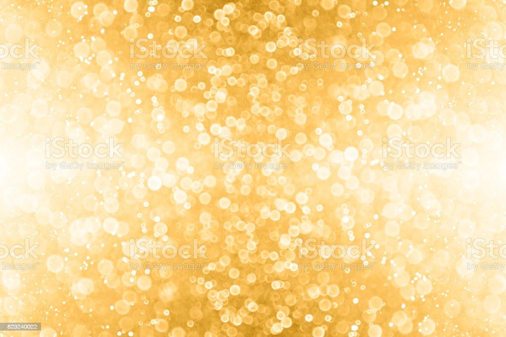 Abstrakte Gold Glitter und Golden funkeln Hintergrund – Foto