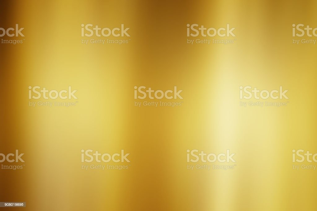 Abstract gold gradient background stock photo