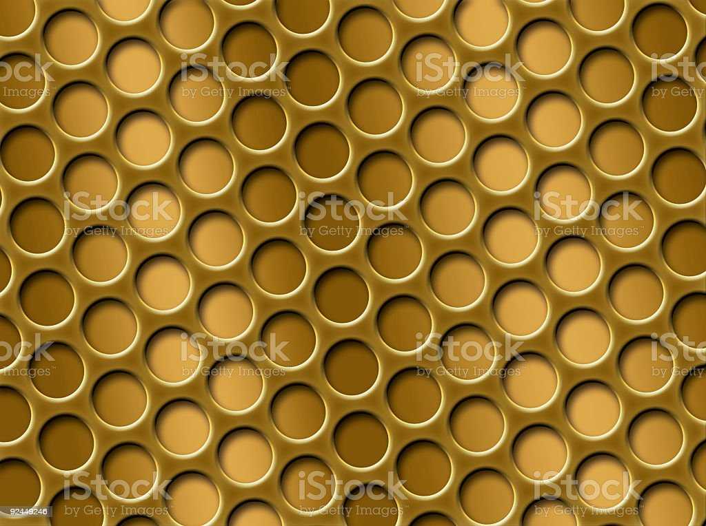 Abstract Gold Grid royalty-free stock photo
