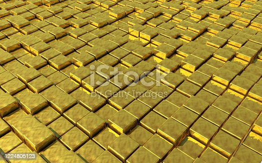 882222132 istock photo Abstract Gold 1224805123