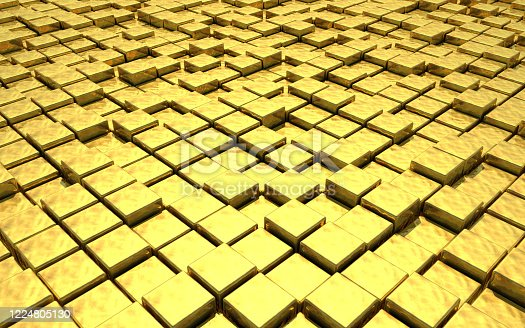 882222132 istock photo Abstract Gold 1224805130