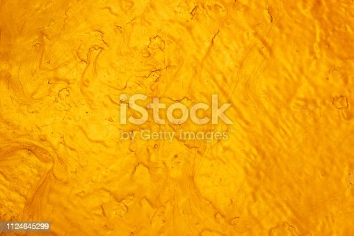 1053870408 istock photo Abstract Gold polished metal brushed background or Shiny yellow leaf gold steel texture. Brushed metal plate with reflected light golden. 1124645299