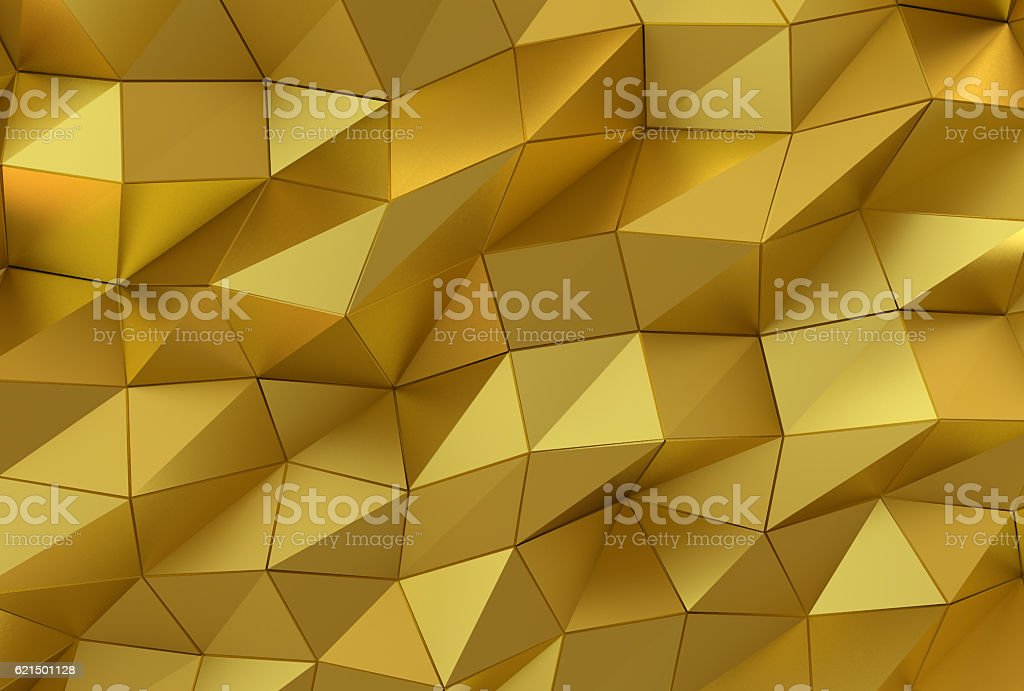 Abstract gold surface. Futuristic background foto stock royalty-free