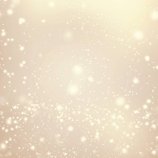 abstrakten goldenen hintergrund mit weißen glitter bokeh unscharf gestellt, - fee stock-fotos und bilder
