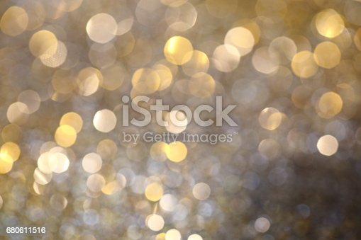 991205326 istock photo Abstract Golden Bokeh background with shining defocus sparkles 680611516