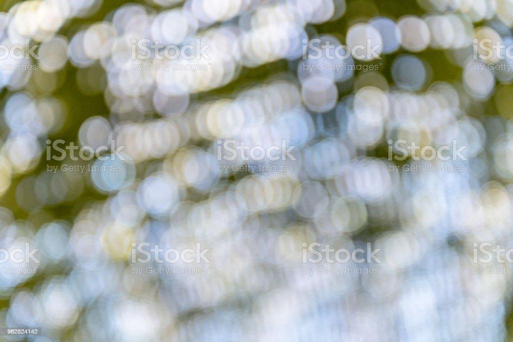 Abstrato dourado bokeh luz de fundo - Foto de stock de Abstrato royalty-free