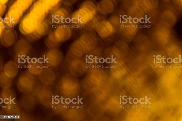 Foto de Abstrato Dourado Bokeh Luz De Fundo e mais fotos de stock de Abstrato