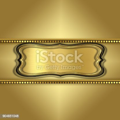 istock Abstract golden corporate creative background 904651048