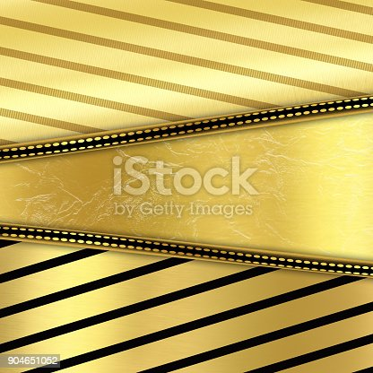 istock Abstract golden creative background 904651052