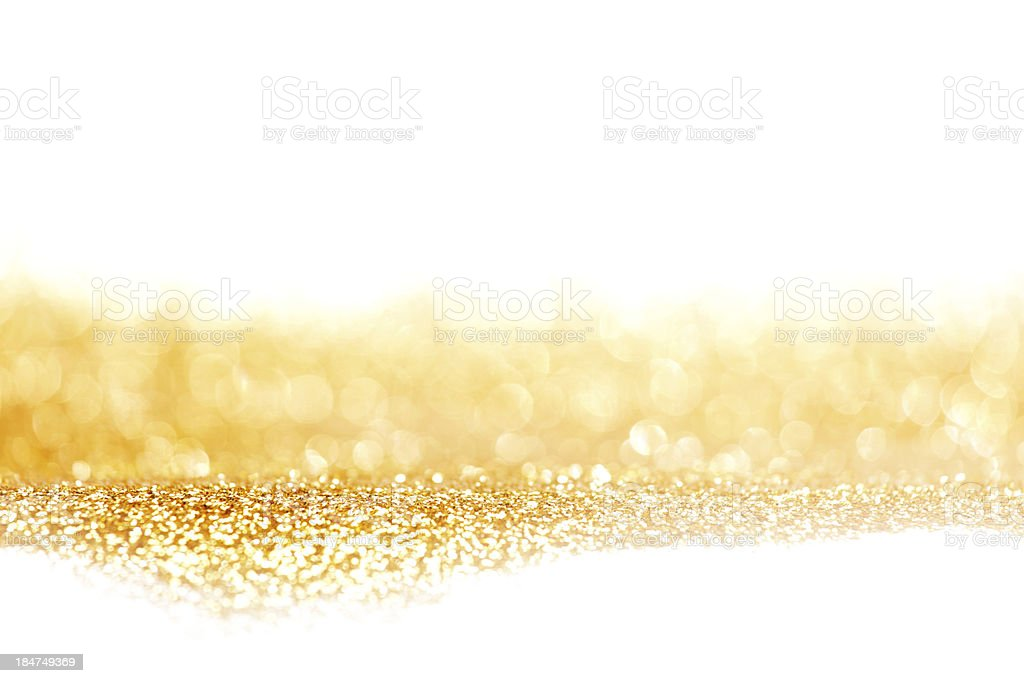 Abstract golden shiny background stock photo