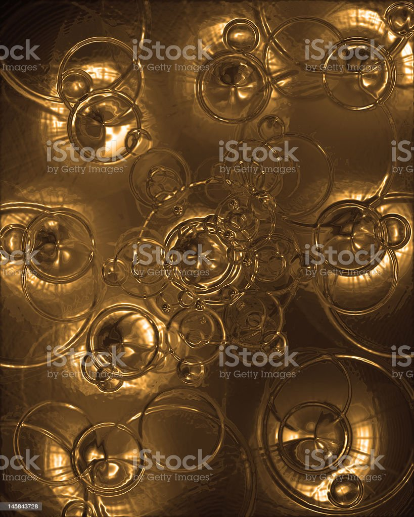Abstract golden texture royalty-free stock photo