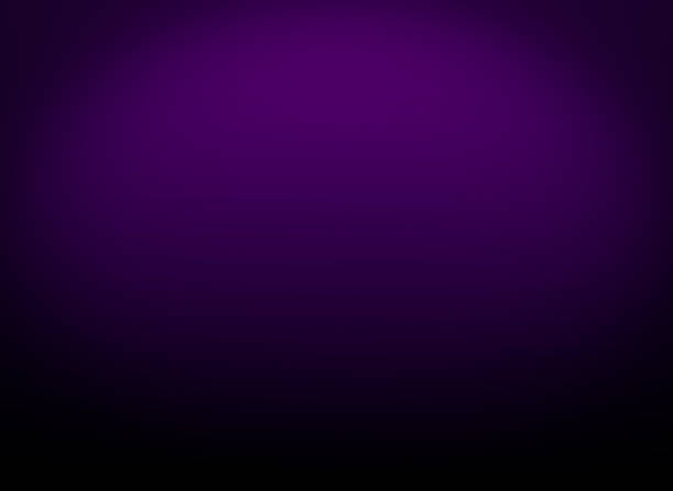 Abstract gradient dark purple background. Gradient dark purple color with black vignette using as a background Abstract gradient dark purple background. Gradient dark purple color with black vignette using as a background purple stock pictures, royalty-free photos & images