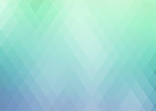 Abstract gradient rhombus background stock photo