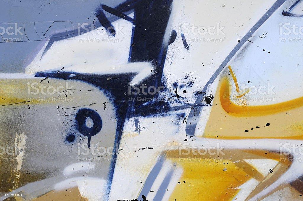 abstract graffiti royalty-free stock photo