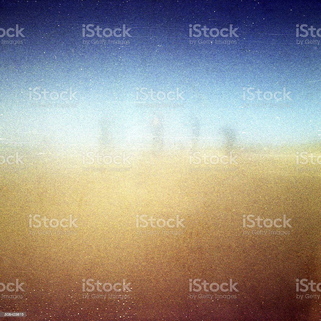 Abstract grained grunge film strip texture stock photo
